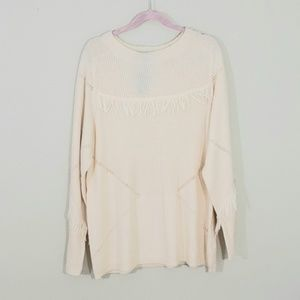 Lane Bryant cream color sweater Sz 18/20